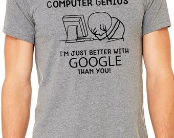 Google t shirt etsy for T shirt help desk