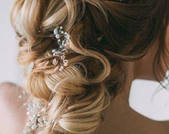 Bridal Hair Pins, Bridal Hairpin, Bridal Hairpiece, Bridal Hair Accessory, Bridal Hairpins