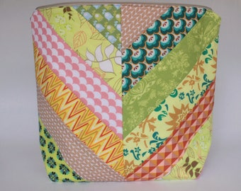 Patchwork project bag large
