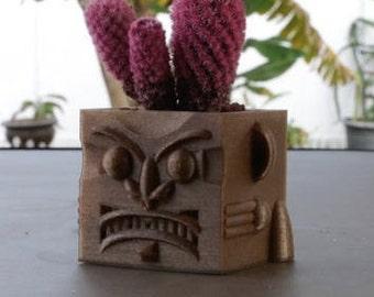 3d printed Evil Face Planter