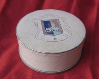 Boite à poudre ancienne de collection, Phebel Marceline Sebalt, couleur Rachel clair,  Old collection powder box, Old collection powder box