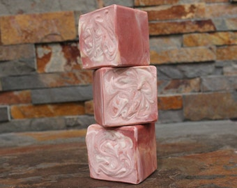 Peppermint Essential Oil Soap Cube