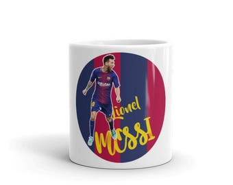 Messi Mug | Cool FC Barcelona Messi Design Mug |