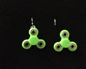 fidget spinner earrings mini spinner fidget etsy 5044