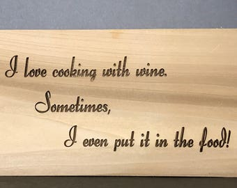 Wine Wisdom Display Tribute