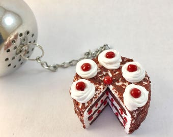 Black Forest Fimo tea ball