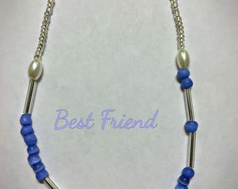 Best Friend Morse Code necklace; Secret Code necklace, Personalized Jewelry, Friendship necklace, Bestie necklace