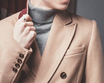 Kensington wool coat