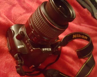 Nikon D3000 digital camera with full infrared conversion