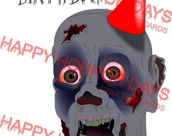 Zombodies birthday Card