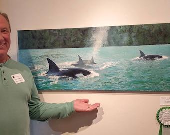 Orcas on the Umpqua