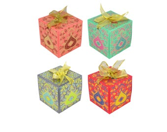 Diwali gift etsy luxury gift box with ribbon 75cm 4 styles wedding gift negle Choice Image