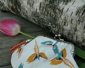 Purse retro tropical