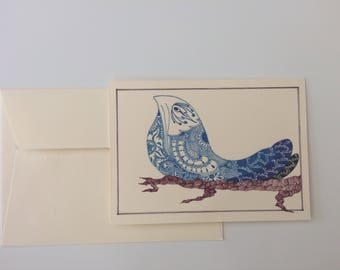 Set of 8 cards with envelope