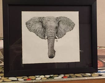Stippled Elephant