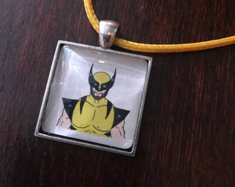 Wolverine/Logan original fan art pendant necklace - Gift it bub!