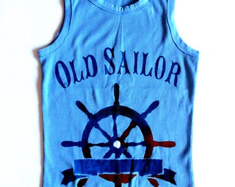 kariban old sailor tank top t-shirt