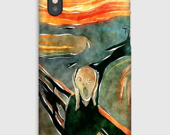 Case for iPhone X 8, 8 +, 7, 7 +, 6s, 6, 6s +, 6, 5 c, 5, 5s 5SE, 4s, 4, Edvard Munch
