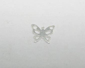 Silver Butterfly length 0.70, Sterling Silver 925/1000 silver charm. Money first. (6836098)