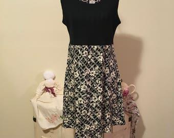 80's sleveless dress size M