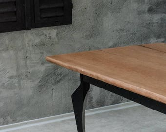 """Dining table """"Droid"""" - Solid wood (Cherrywood)"""