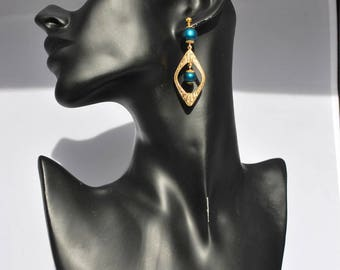 "Earrings ear ""ART Deco""."
