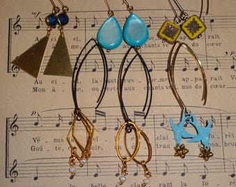 The large earring hooks (earrings)