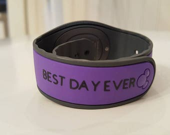 magicband BEST DAY EVER decal