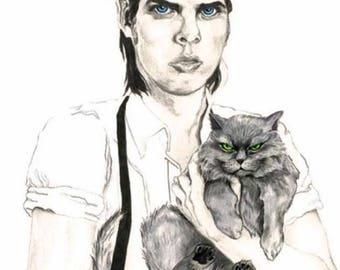 Nick Cave Cat