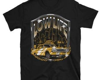 Low Life Lowrider Car T-Shirt