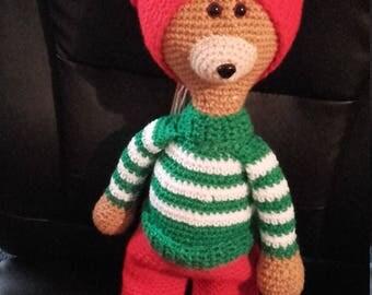 cuddly bear Christmas color