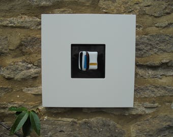 Framed Fused Glass - 'Allsorts'