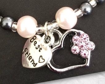 Handmade Heart/Friendship Bracelet