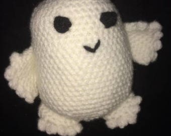 Crocheted Adipose-Doctor Who