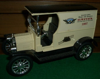 1912 Ford Bank Truck Diecast ERTL