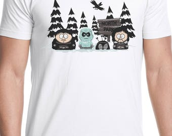 north park t shirt game of thrones south park crossover