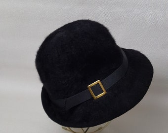 Vintage 1980s Kangol Furry Blend Bucket Hat