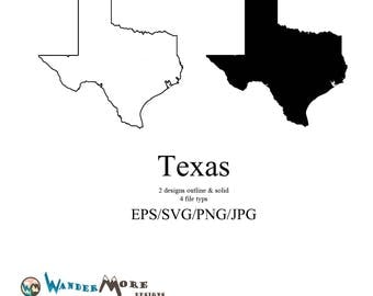Texas Vector, State Clipart, Texas svg, State png, Texas watercolor map, Texas clip art, Texas jpg, Texas outline svg