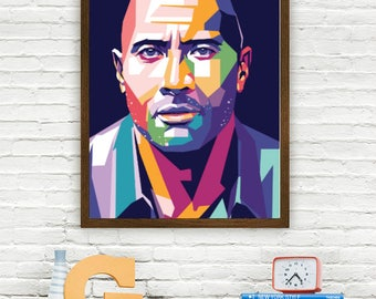 Dwayne Johnson Limited Artwork