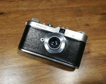 Rare Czechoslovakia Rangefinder Meopta Opema I camera with Belar 45 mm 1:3,5