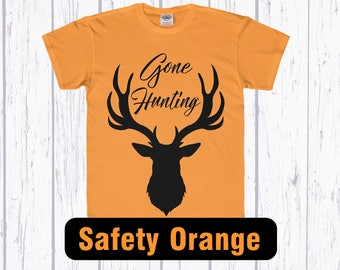 Hunting Clothes, Youth Hunting Shirts, Deer Hunting Tee, Safety Orange Hunting Clothes for Kids, Kids Hunting Shirt,Deer Hunting Youth Shirt