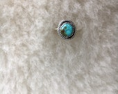 Sierra turquoise sterling silver ring size 5