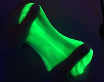 Mother Nature Life Force Glow In The Dark Slime