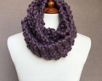 Chunky Knit Infinity Scarf II