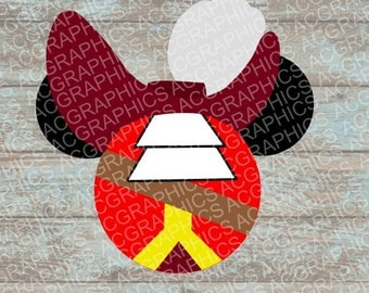 Captain Hook Mouse Head SVG, DXF, JPEG, and Studio Downloads