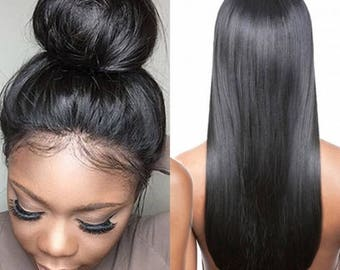 Lace Front Wig smooth