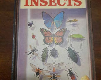 Answers About Insects by Ronald Rood, Vintage Insect Book, Insect Illustrations