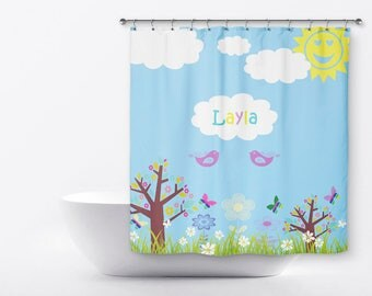 shower curtain for kids butterfly shower curtain sun shower curtain customized shower