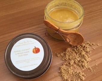 Pumpkin, Coconut & Brown Sugar Face Mask