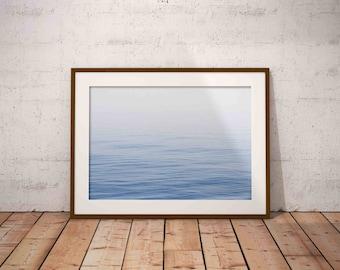 ocean print , blue water print , ocean waves print , nautical decor , beach wall art , beach photography , printable poster